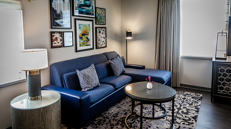 the heathman hotel renovated sofa