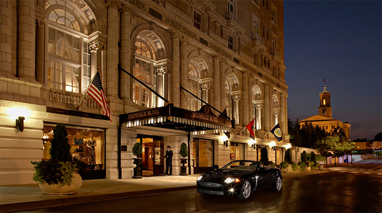 the hermitage hotel front