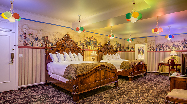 the historic davenport hotel autograph collection circus room