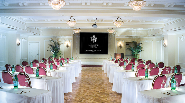 the historic davenport hotel autograph collection early bird classroom