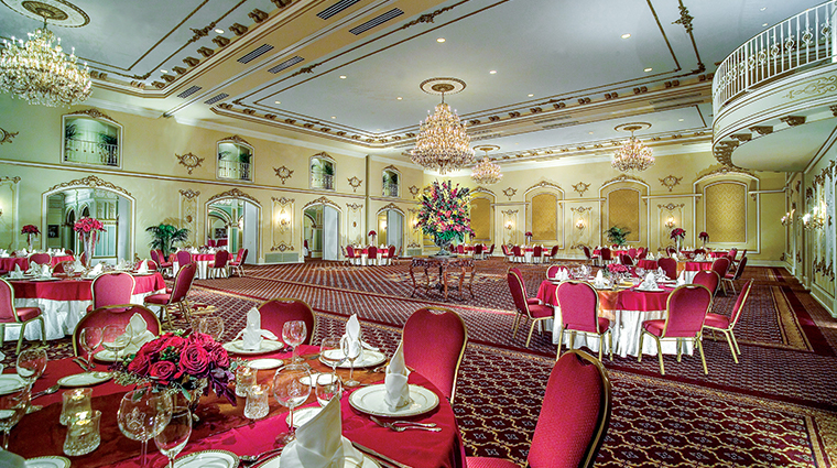 the historic davenport hotel autograph collection grand pennington ballroom