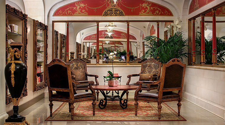 the historic davenport hotel autograph collection salon lounge