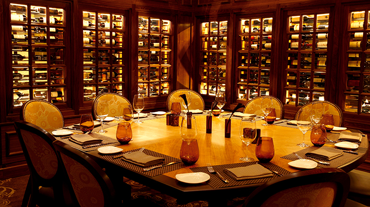 the hotel hershey circular wine room