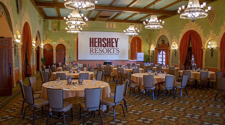 the hotel hershey new Castilian Room