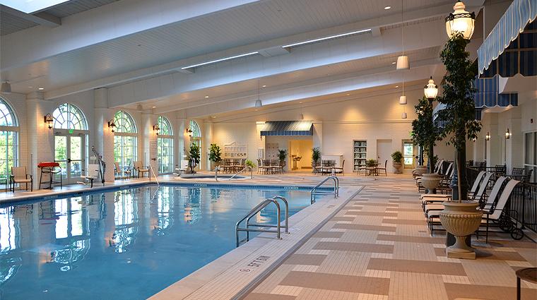 the hotel hershey new Indoor Pool
