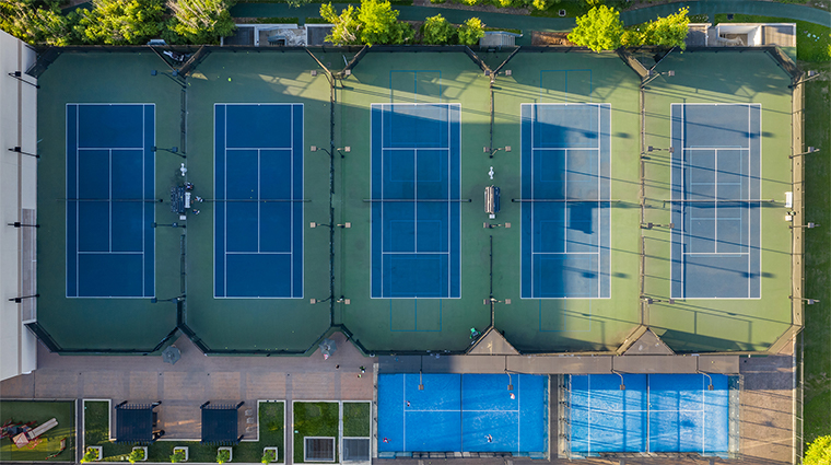 the houstonian hotel club and spa outdoor tennis complex14