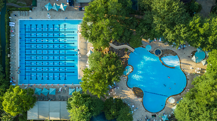 the houstonian hotel club and spa resort pools13