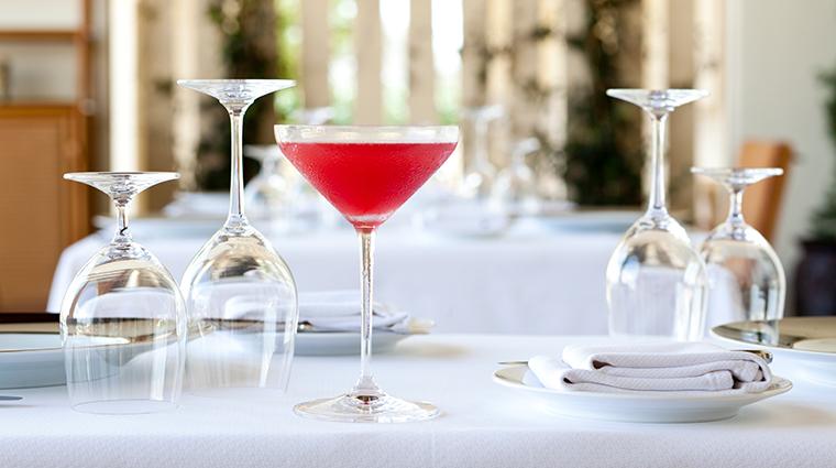 the inn at dos brisas restaurant drink
