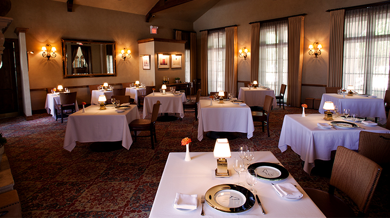the inn at dos brisas dining room