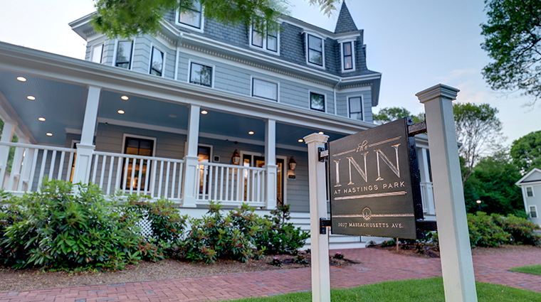 the inn at hastings park main entrance