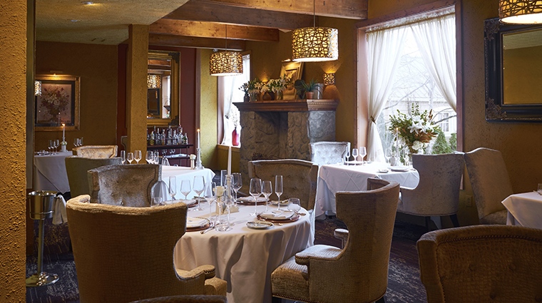 the inn at leola village TE dining room