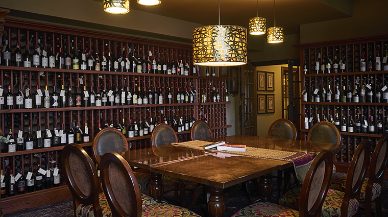 the inn at leola village TE wine room