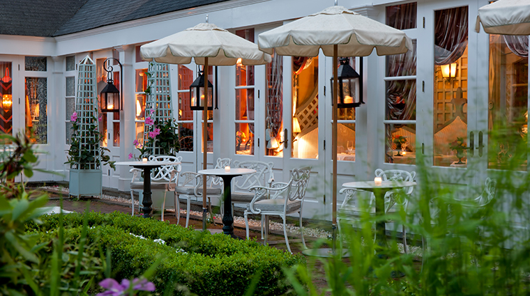 the inn at little washington restaurant terrace
