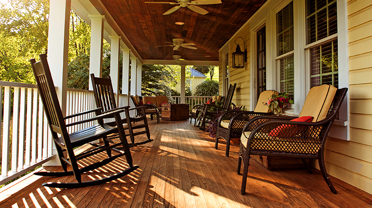 the inn at willow grove porch