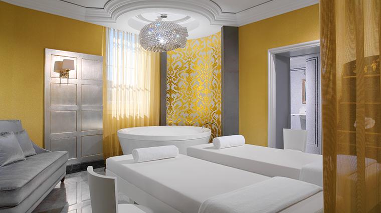 the iridium spa treatment room