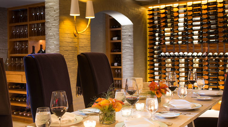 the ivy hotel magdalena restaurant private dining