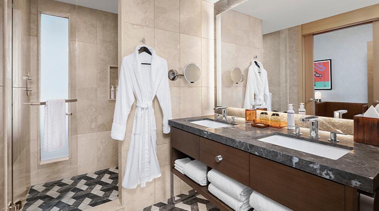 the joseph a luxury collection hotel bathroom