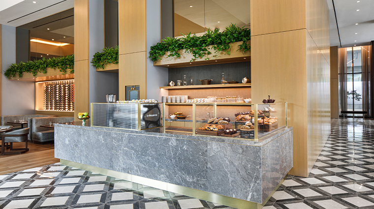 the joseph a luxury collection hotel coffee bar