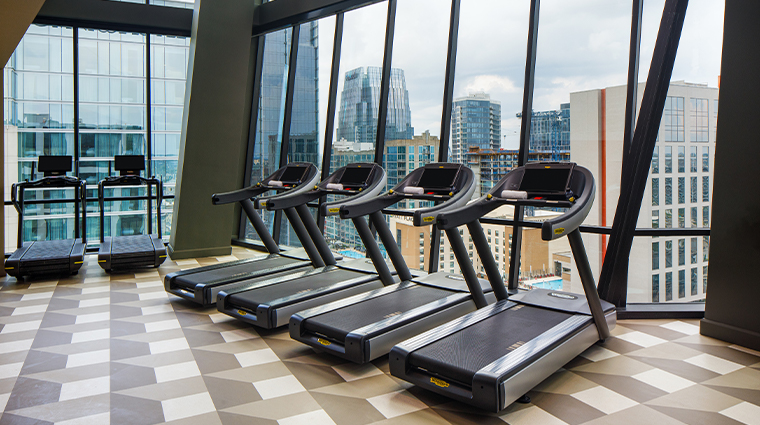 the joseph a luxury collection hotel fitness center