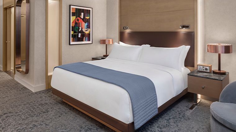 the joseph a luxury collection hotel king bed