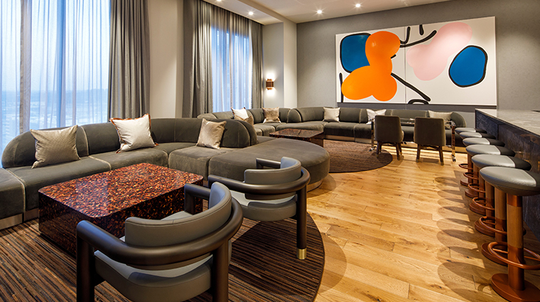 the joseph a luxury collection hotel penthouse living room