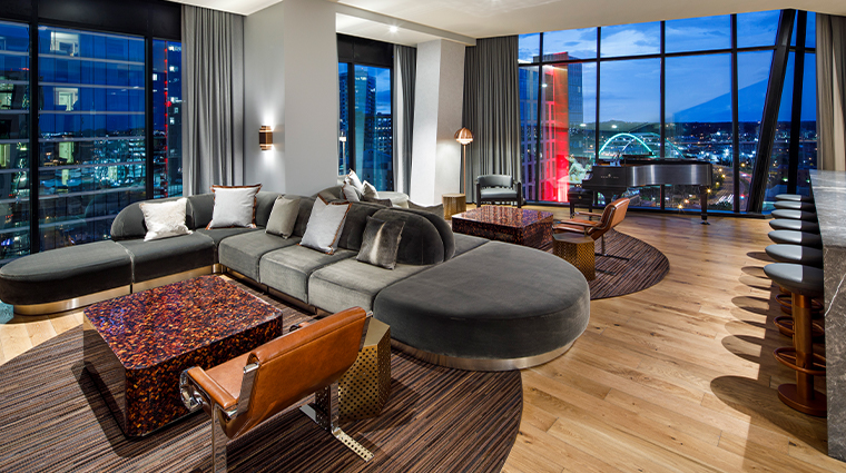 the joseph a luxury collection hotel presidential suite living