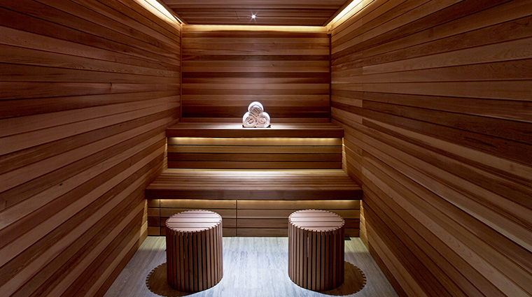 the joule ESPA sauna