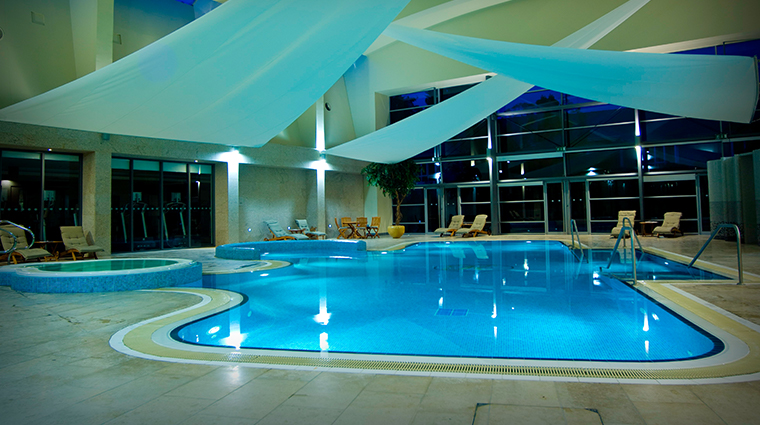 the k spa at the k club swimming pool