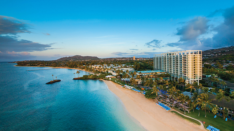 the kahala hotel and resort aerial