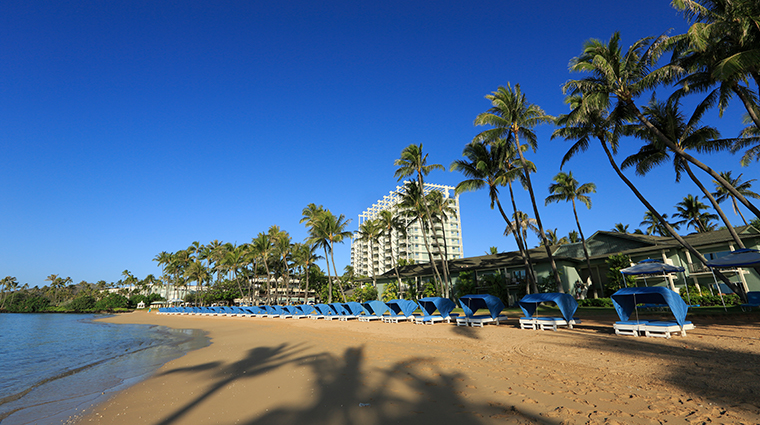 the kahala hotel and resort beach