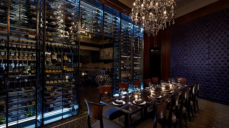 the kimberly hotel empire steak wine room