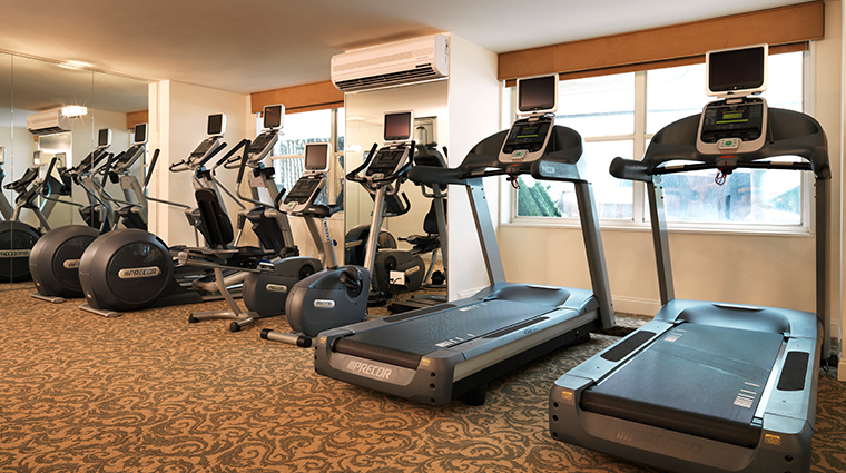 the kimberly hotel fitness center