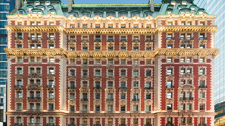 the knickerbocker hotel facade