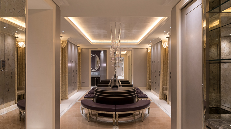 the lanesborough club spa ladies changing room