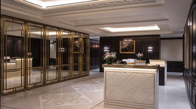 the lanesborough club spa reception
