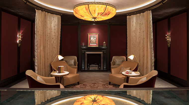 the lanesborough club spa treatment lounge