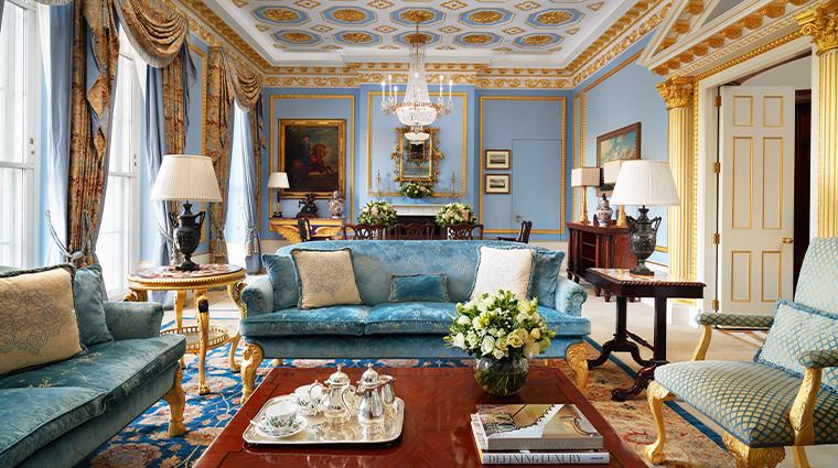 The Lanesborough Lodnon Royal Suite Lounge