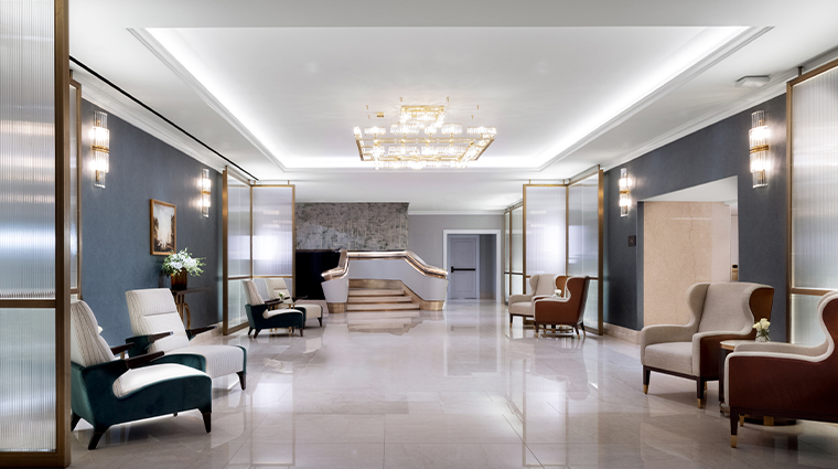 the langham boston lobby