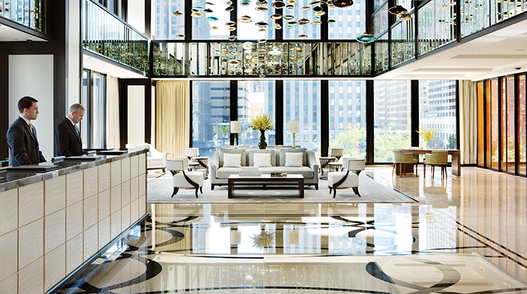 the langham chicago reception desk