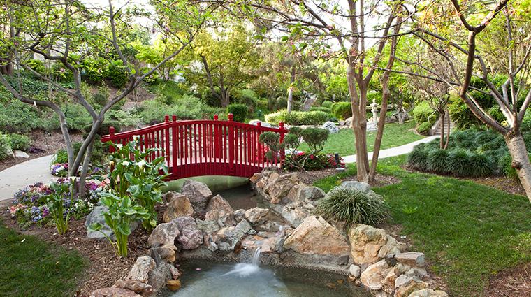 the langham huntington pasadena japanese garden