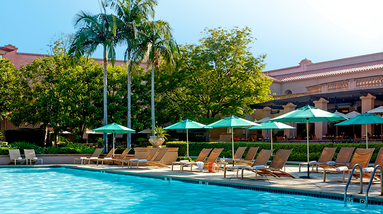 the langham huntington pasadena pool