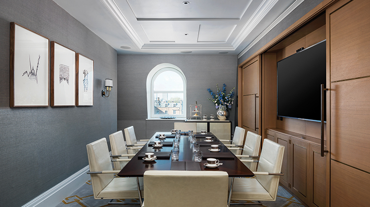 the langham london boardroom