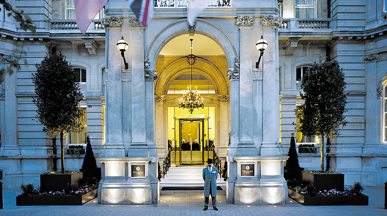 the langham london facade
