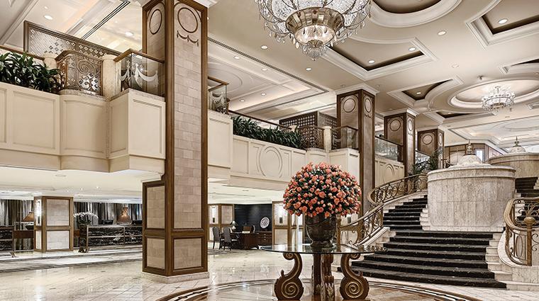 the langham melbourne lobby