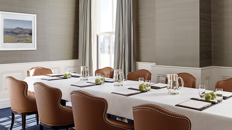 the langham sydney boardroom