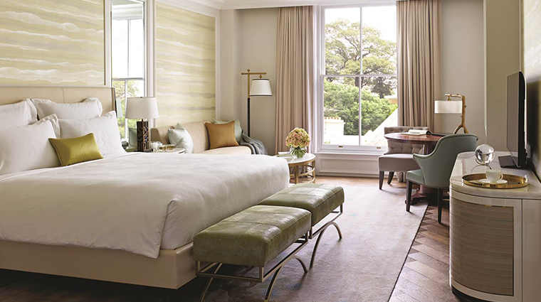 the langham sydney observatory suite bed