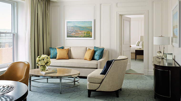 the langham sydney residence lounge room