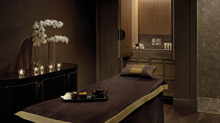 the langham sydney spa treatment room