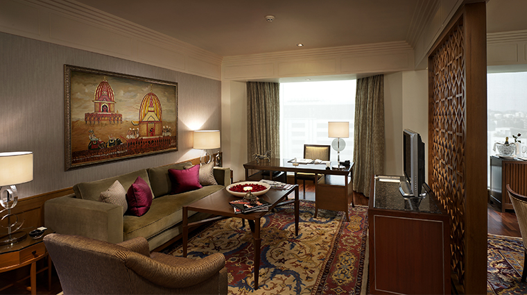 the leela mumbai Konark Junior Presenditial Suite