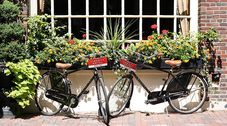 the liberty hotel a luxury collection hotel bikes